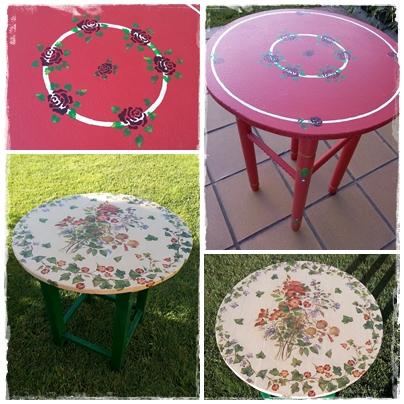 El refugio de lirtea mesas para el jardin - La mesa camilla ...
