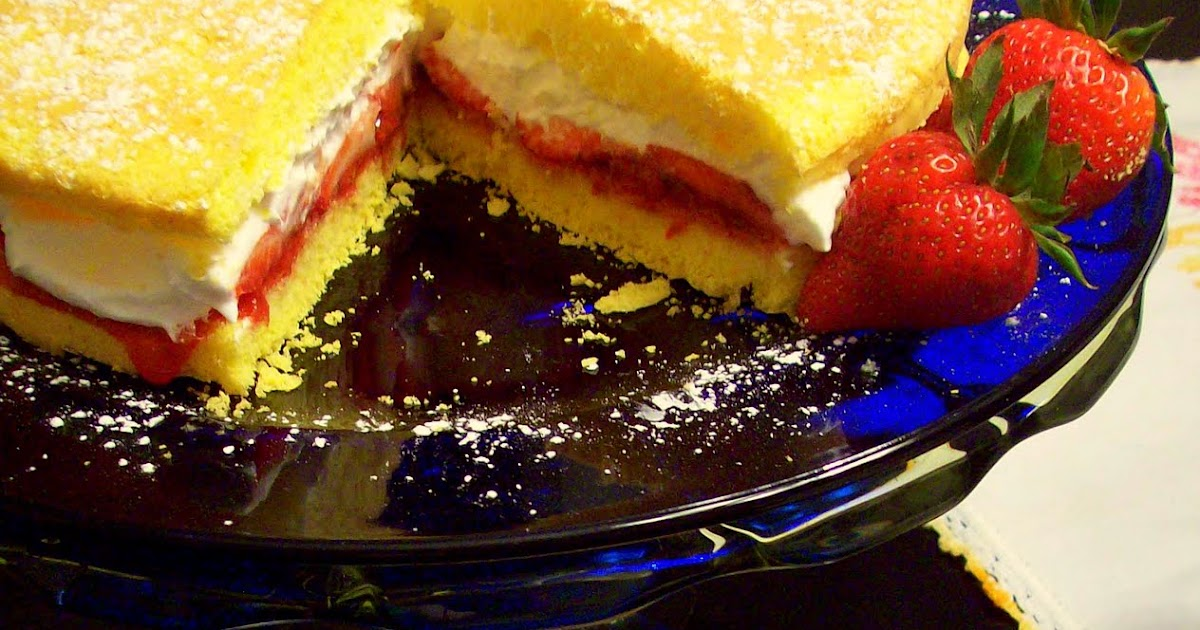 Watching What I Eat: Guilt Free Victoria Sponge Cake
