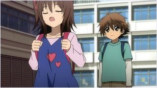 คานะกับริคุโอะในวัยเด็ก
