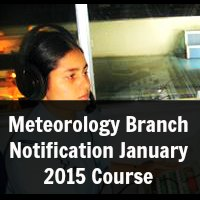 Meteorology Branch Notification January 2015 Course