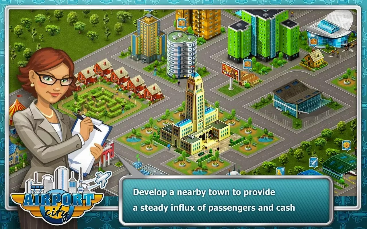 Airport City v2.11.01 [Mod Money]