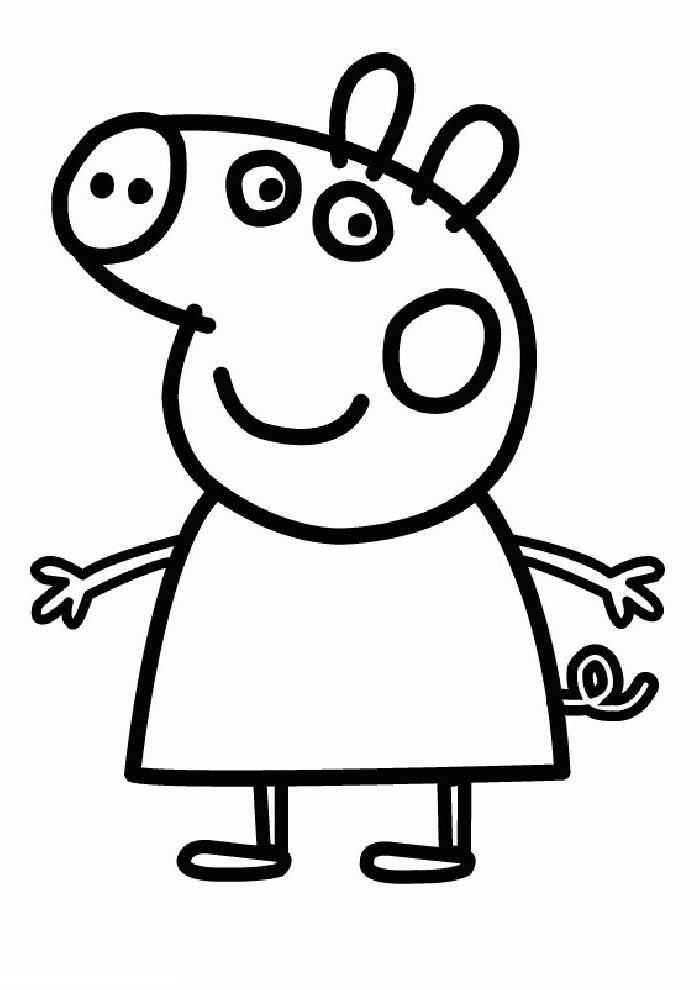 Declarative image regarding printable peppa pig