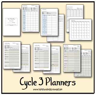 http://www.halfahundredacrewood.com/2014/03/classical-conversations-cycle-3-weekly-planners.html