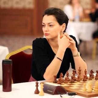 L'ex-championne du monde d'échecs russe Alexandra Kosteniuk - Photo © site officiel
