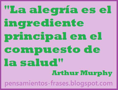 frases de Arthur Murphy