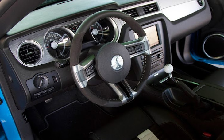 Gallery For Gt 2012 Shelby Gt500 Interior
