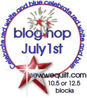 Red, White &amp; Blue Blog Hop