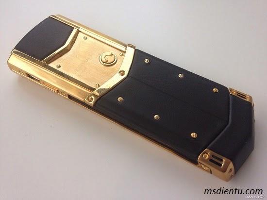 Vertu Signature S Gold fake giá rẻ