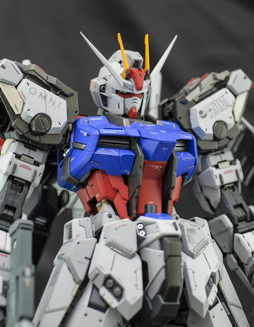 PG Aile Strike Gundam by ghost remodeled