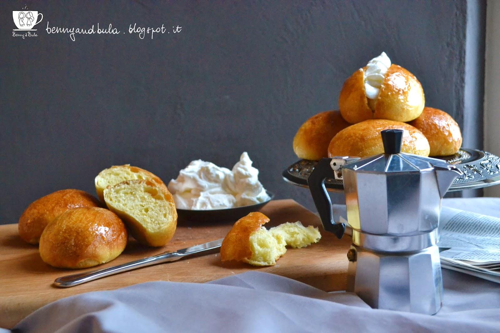 ricetta maritozzi aromatizzati agli agrumi, arancia e limone/ orange and lemon spiced brioche recipe