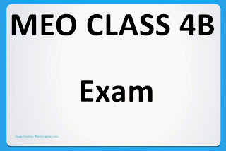 MEO Class 4B, MEO Class 4B Written and Orals
