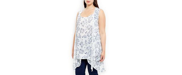 http://www.newlook.com/shop/inspire-plus-sizes/dresses/samya-blue-floral-print-dip-hem-top_356311149