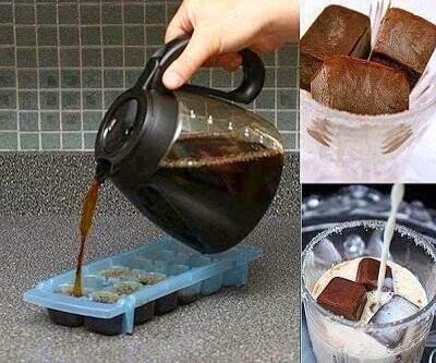 குளிர் காப்பி (cold coffee) செய்யும் முறை | Making a simple Cold coffee at home