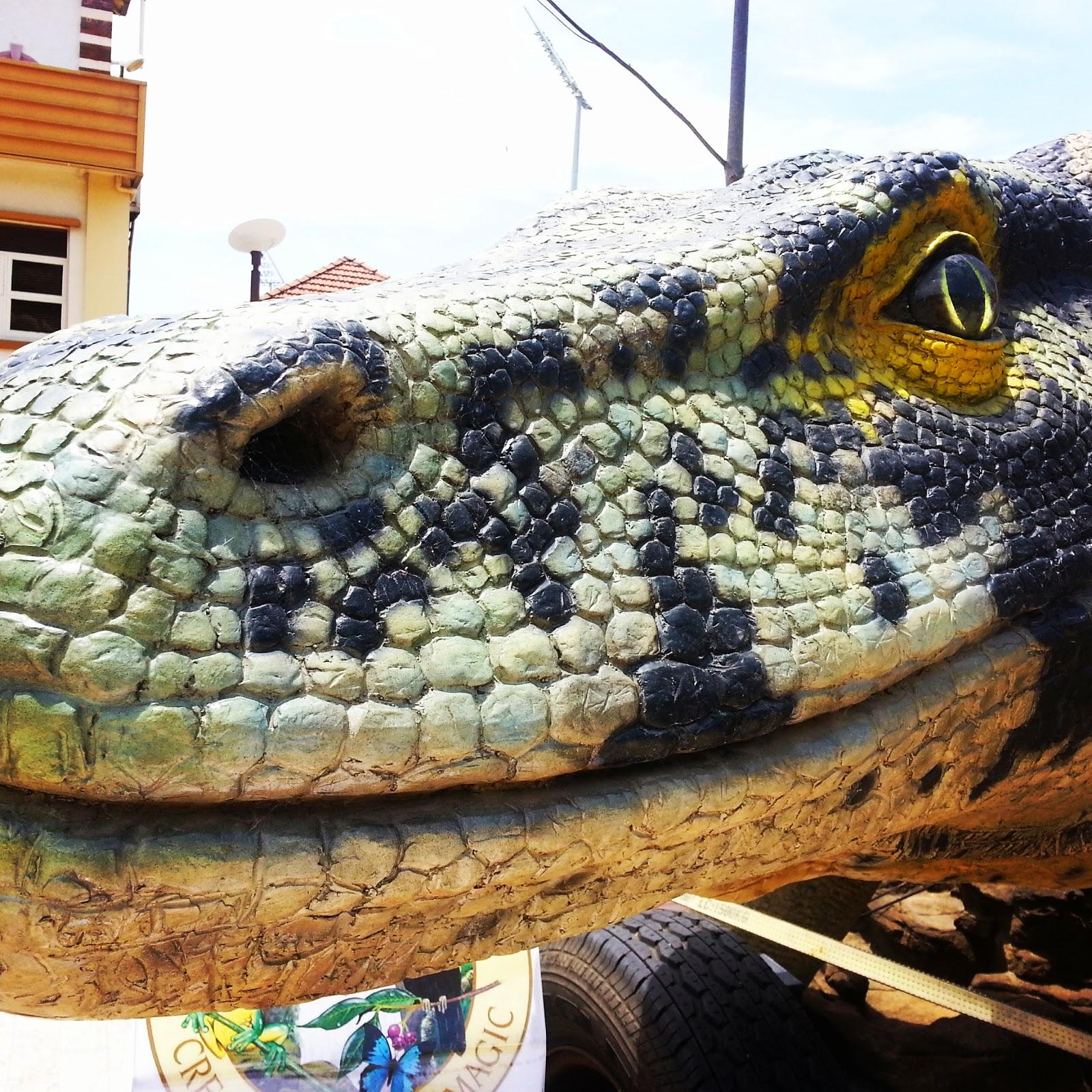 reptile giant lizard