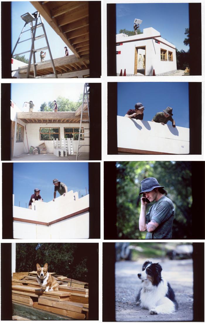 mamiya rb67 fp100C instant film