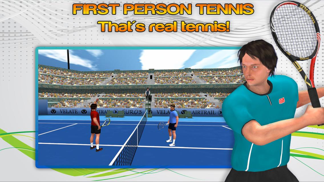 First Person Tennis World Tour v1.6 APK+DATA