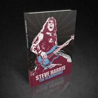 """Βιβλίο και για τον Steve Harris με τίτλο """"The Clairvoyant"""" Steveharris-book"""