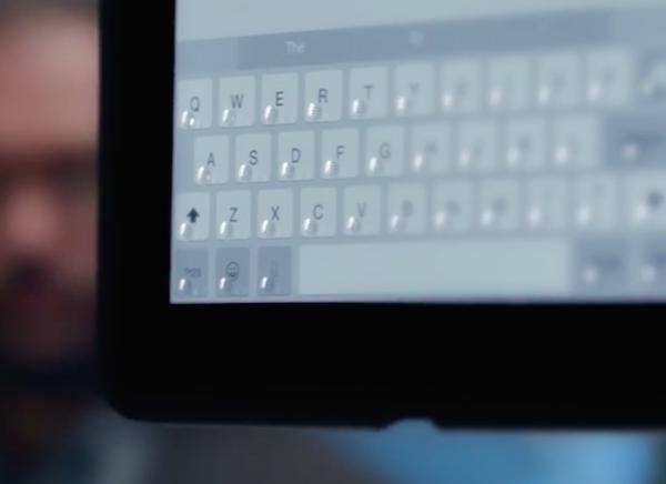 how to put virtual keyboard on ipad