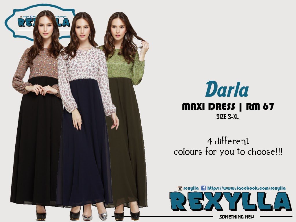 rexylla, maxi dress, flora chiffon, darla collection