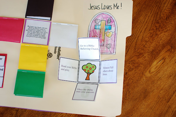 Wordless Book Plan of Salvation Printable