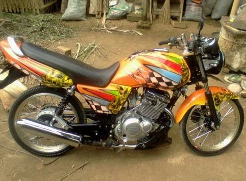 cara modifikasi motor thunder