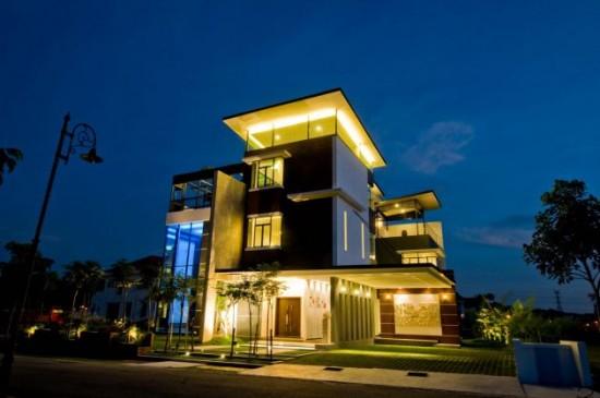 Lot 18 House Design Modern Kuala Lumpur Malaysia