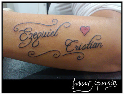 javier bonnin tatuajes ezequiel y cristian