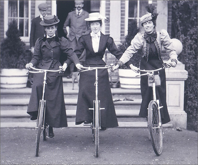 a short history of the bicycle Unicycle is a specific type of bicycle whose history started shortly after introduction of the popular penny-farthing bicycles who managed to train drivers how to easily balance their weight by sitting on one big wheel.