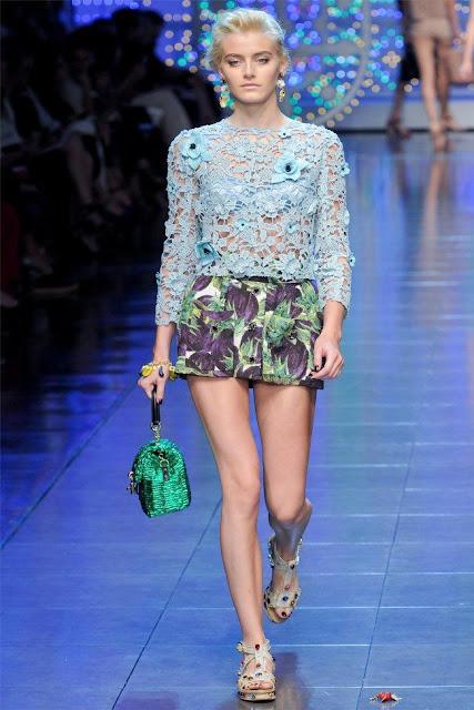 dolce gabbana42 - Dolce&Gabbana Ilkbahar 2012 | Milan Moda Haftas�