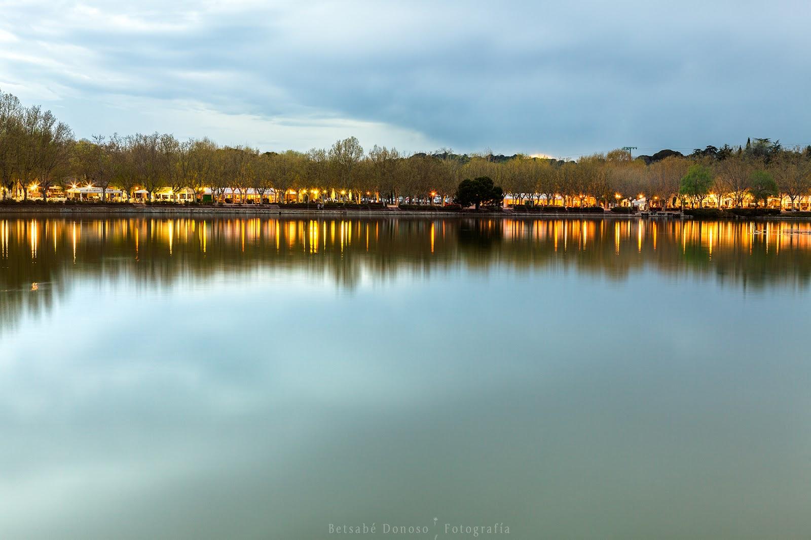 Betsabé Donoso: El Lago de la Casa de Campo