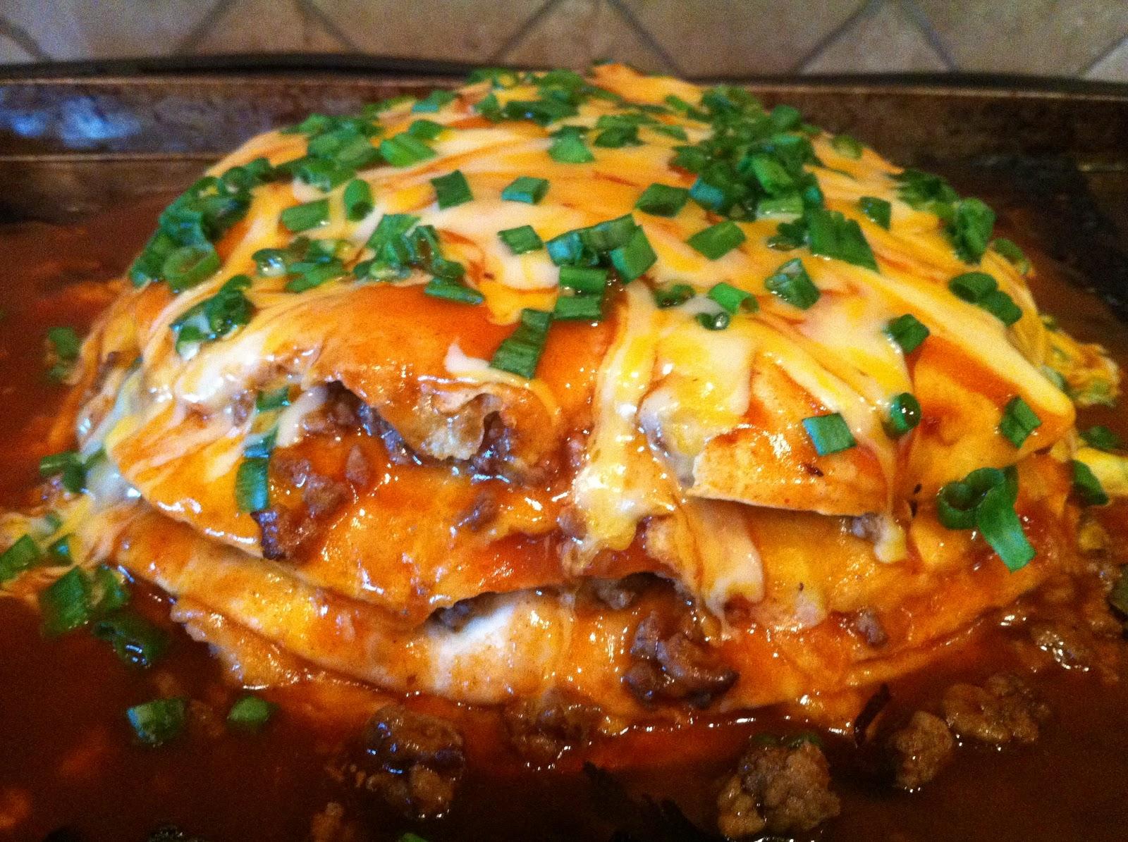 Shammy Says: A Stack of Enchiladas?