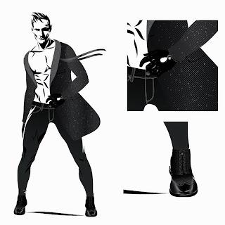 The Rakish Gent: Look of the week, vector illustration by Kai Karenin