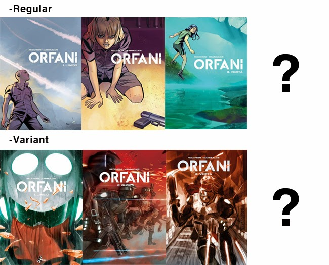 bao publishing orfani edizione deluxe copertine cover mammuccari carnevale