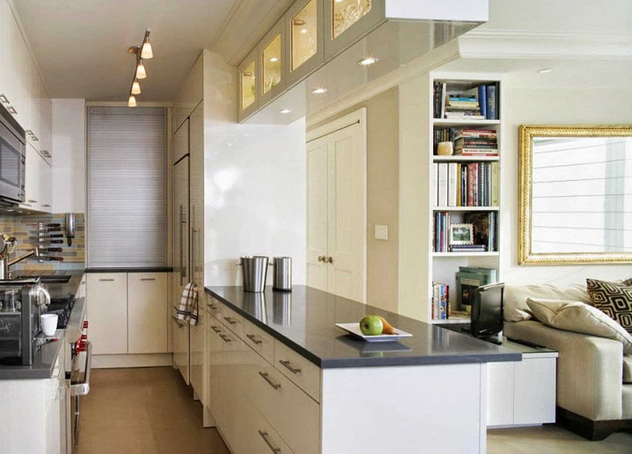Small galley kitchen remodeling ideas on a budget for Small galley kitchen remodel