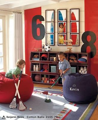 cuarto de juegos niños