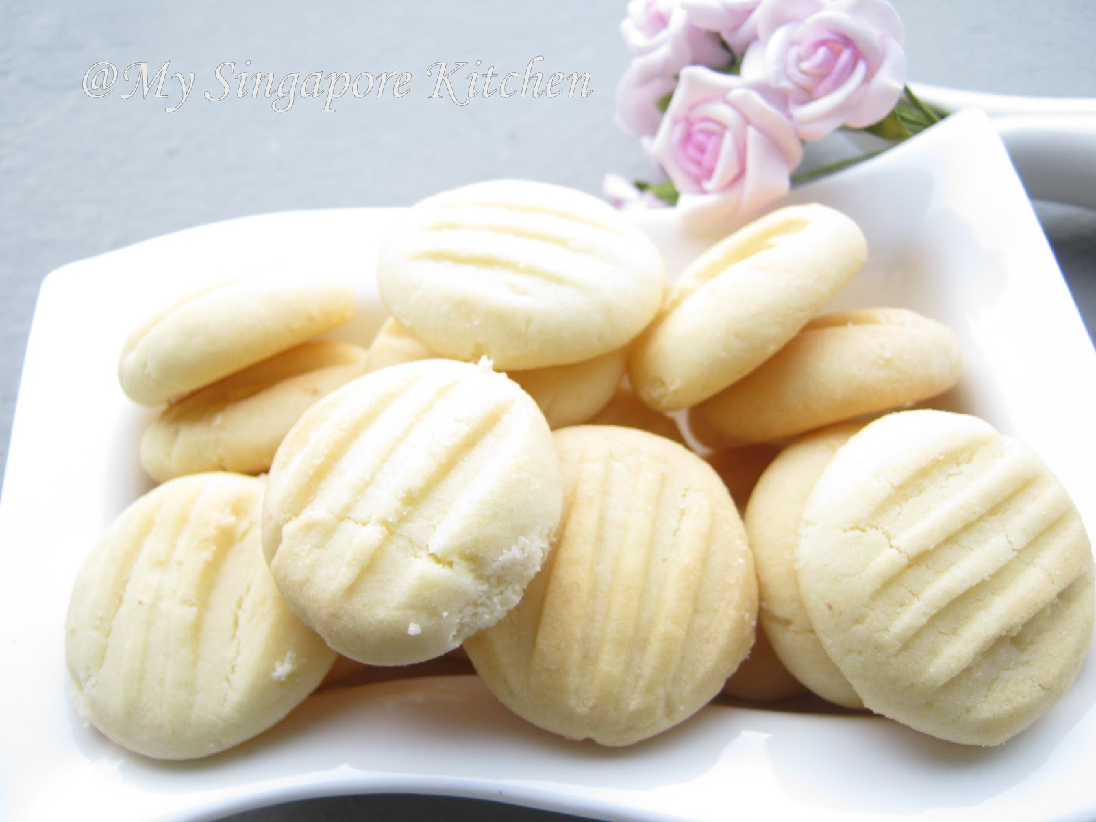German Butter Cookies | My Singapore Kitchen.....