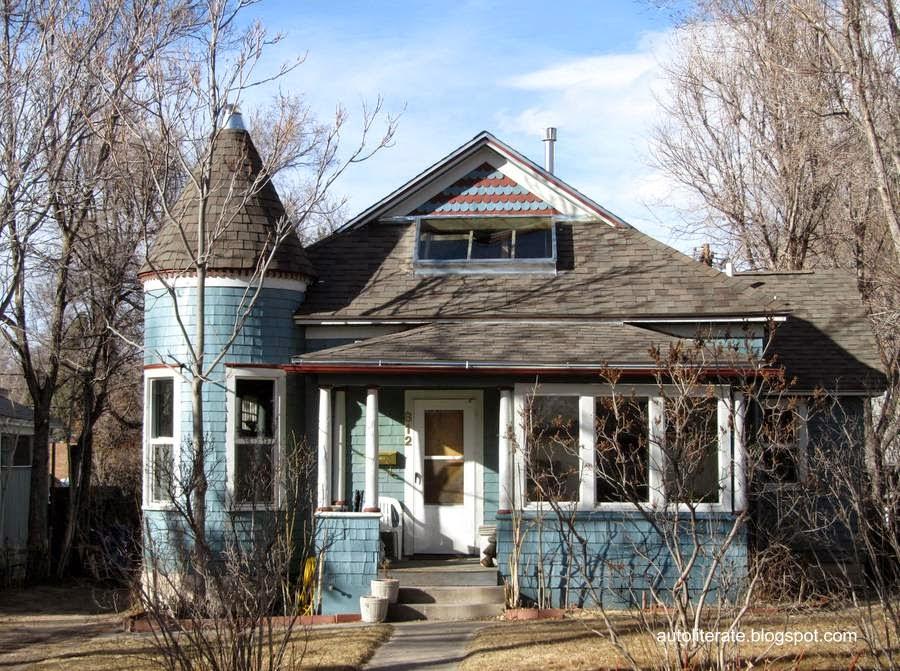 Casa americana con características de arquitectura europea