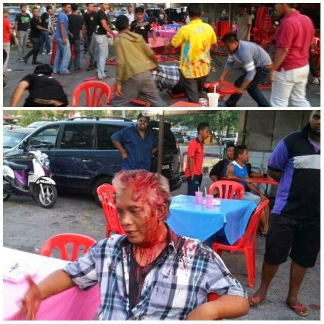 Pemilihan PKR 2014 : Tragedi Berdarah Sehari Sebelum Pemilihan Kuala Langat [Video+Gambar]