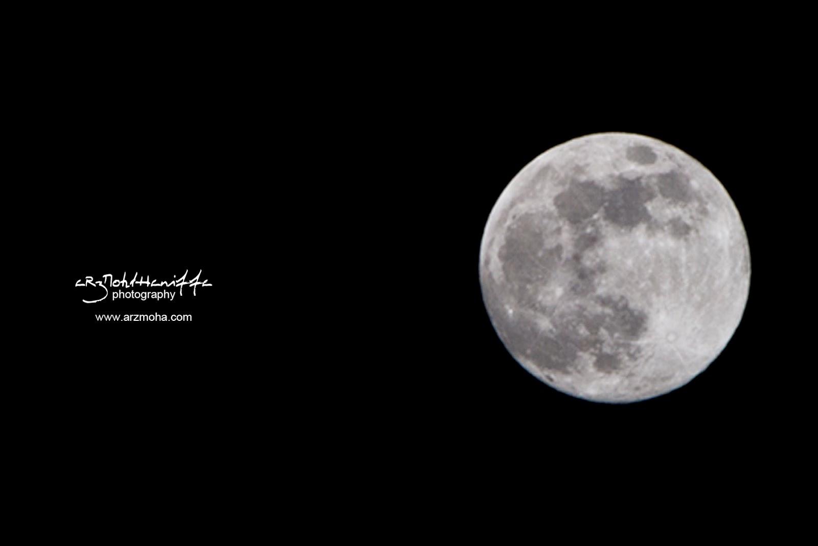 Gerhana bulan Penuh, Full Moon, gambar cantik, jurufoto perkahwinan utara dan pantai timur