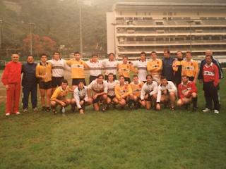 Rugby 7 : Hong Kong . Entrenamiento con los argentinos
