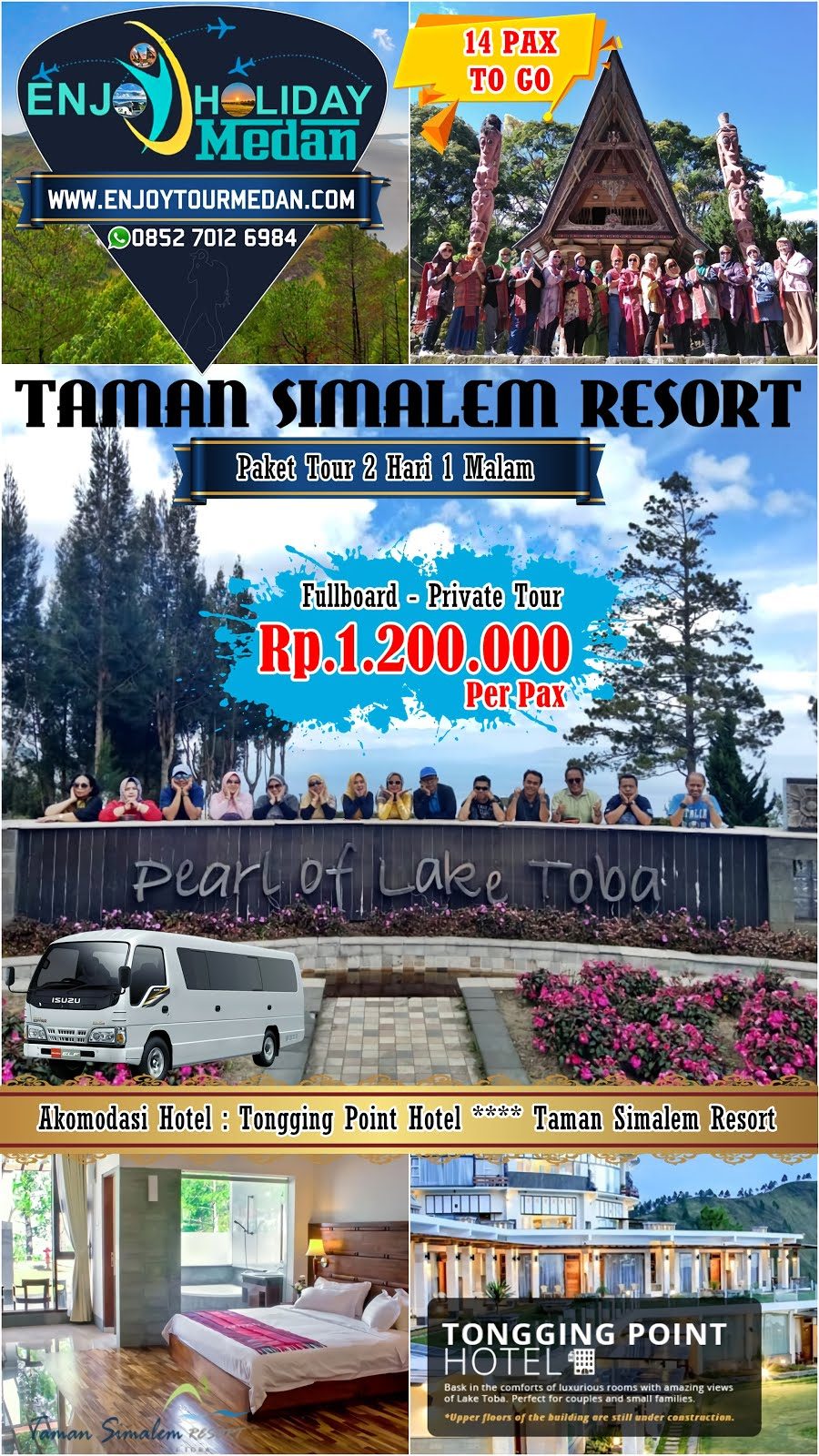 Tour Taman Simalem Resort