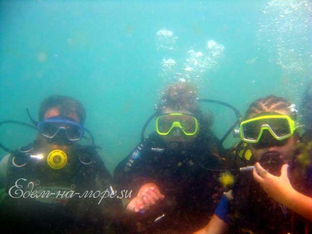 Погружение с аквалангом, фото