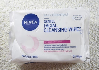 NIVEA EXFOLIATING WIPES