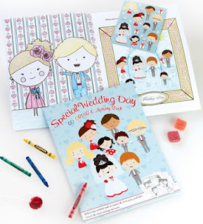 childrens wedding activity kit