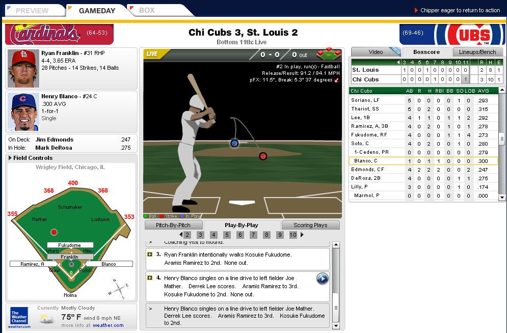 2008 MLB Gameday