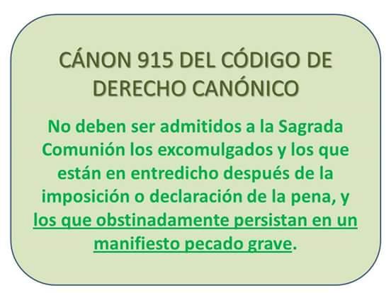 La Secta de Bergoglio se rebela contra la Iglesia y contra Jesucristo y contra los 10 Mandamientos
