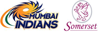 Mumbai Indians v Somerset