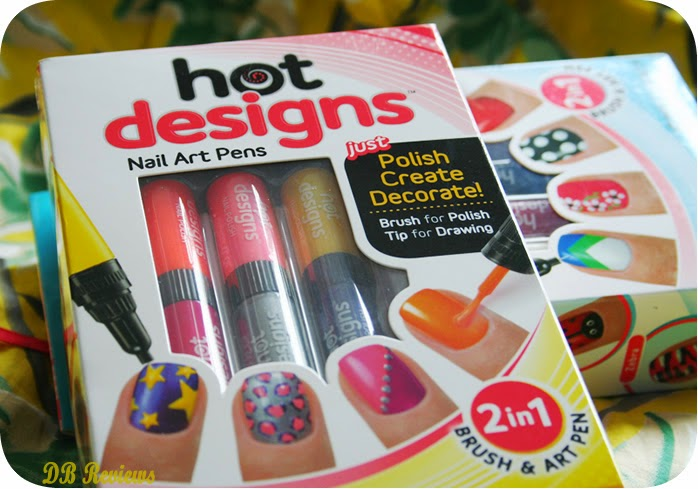 Jml hot designs 2 in 1 nail art pen db reviews beauty according to jml hot designs gives you stunning designer nails in just moments these 2 in 1 nail art pens have both a brush and a pen tip prinsesfo Image collections
