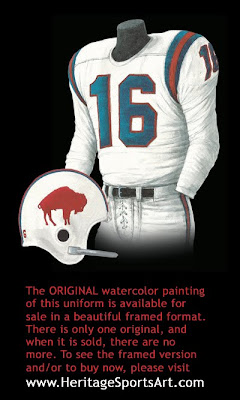 Buffalo Bills 1964 uniform