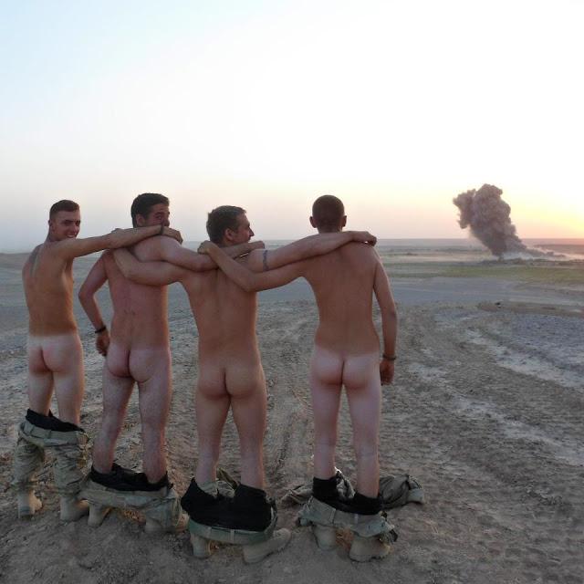 Hot men in their pants.: Soldier Ass.